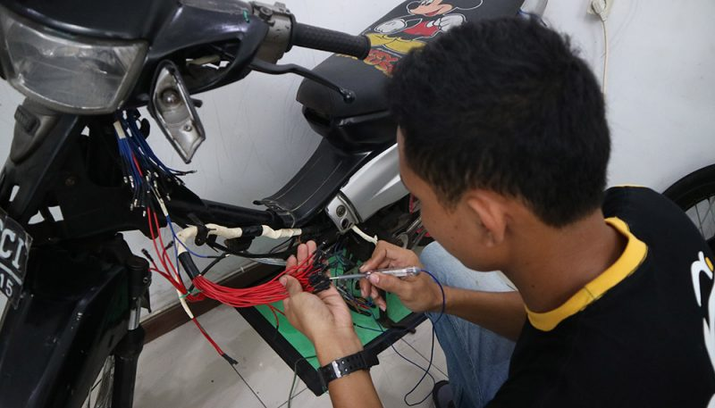 kursus mekanik motor